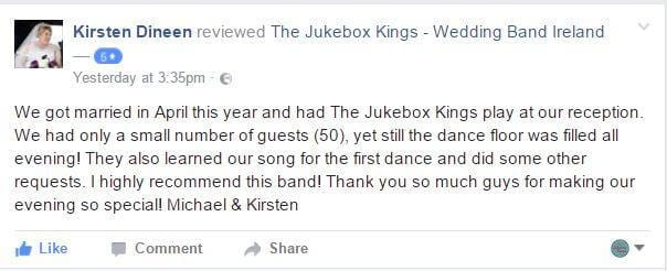 Wedding Band Reviews from Kirsten Dineen