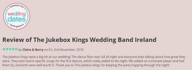 Wedding Band Review