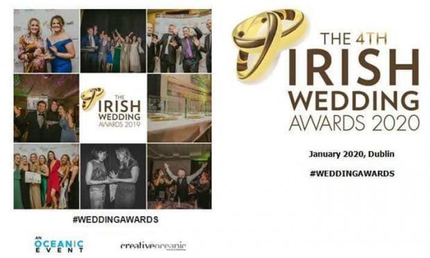 Irish Wedding awards Best Wedding Band In Ireland finalist 2020